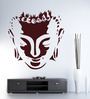 Hoopoe Decor Vinyl Meditating Buddha 4 Wall Sticker