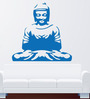 Hoopoe Decor Vinyl Meditating Buddha 9 Wall Sticker
