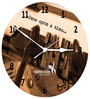 Hoopoe Decor Once Upon A Time Trendy Designer Wall Clock