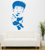 Hoopoe Decor Vinyl Studying Boy Wall Sticker