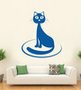 Hoopoe Decor Vinyl The Cat Wall Decal