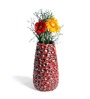 Hosley Red Ceramic Vase