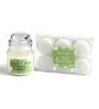 Hosley Sweet Pea Jasmine 6-piece Jar Candle Set
