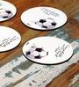 Hot Muggs Soccer - Religion Coaster - Set of 6