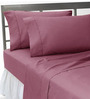 HotHaat Purple Cotton Pillow Cover - Set of 2