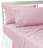 HotHaat Pink Cotton Pillow Cover - Set of 2