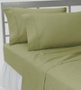 HotHaat Green Cotton Pillow Cover - Set of 2