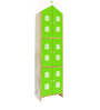House Kids Large-Size Wardrobe in Green Colour by KuriousKid