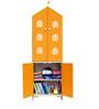 House Kids Medium-Size Wardrobe in Orange Colour by KuriousKid