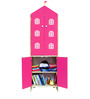 House Kids Medium-Size Wardrobe in Pink Colour by KuriousKid