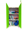 House Kids Small-Size Wardrobe in Green Colour by KuriousKid