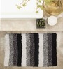 House This Black Cotton Bath Rug