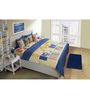 House This Blue Cotton Double Comforter