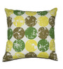 House This Green Cotton 16 x 16 Inch Cushion Cover
