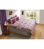 House This Multicolour Geometric Patterns Cotton Queen Size Bed Sheets - Set of 3