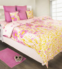 House This Purple 100% Cotton Bed sheet