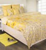House This Yellow 100% Cotton Bed sheet