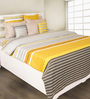 House This Yellow 100% Cotton Duvet Cover