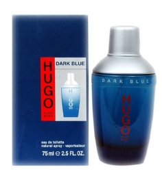 Hugo Boss Dark Blue EdT Spray For Men - (75 ml)
