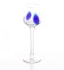 Huafu Blue Speckle Cordial 90 ML Shot Glass - Set of 6