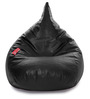 HumBug Bean Bag (Cover Only) XL size in Black Colour  by Style Homez