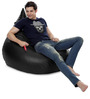 HumBug Bean Bag (Cover Only) XXL size in Black Colour  by Style Homez