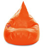 HumBug Bean Bag (Cover Only) XXL size in Orange Colour  by Style Homez