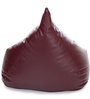 HumBug Bean Bag XL size in Maroon Colour with Beans by Style Homez