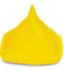 HumBug Bean Bag XL size in Yellow Colour with Beans by Style Homez