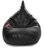 HumBug Bean Bag XXL size in Black Colour with Beans by Style Homez