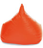HumBug Bean Bag XXL size in Orange Colour with Beans by Style Homez