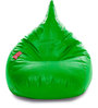 HumBug Bean Bag XXL size in Parrot Green Colour with Beans by Style Homez