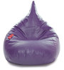 HumBug Bean Bag XXL size in Purple Colour with Beans by Style Homez