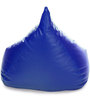 HumBug Bean Bag XXL size in Royal Blue Colour with Beans by Style Homez