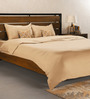 Hush Brown Cotton Solid 102x92 INCH Duvet Cover