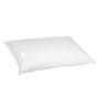 Hush Feather White 100% Cotton Pillow