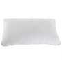 Hush Slim White Cotton Pillow