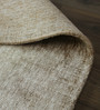 Hyde Park Beige Cotton & Viscose Hand Loomed Space Dyed Carpet