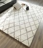 Hyde Park Brown & Ivory Wool & Cotton Beni Ourain Berber Hand Knotted Carpet