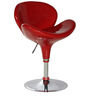 Hydraulic Bar Chair in Red Colour by Penache