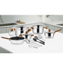 Ideale Italia Stainless Steel 15-piece Cookware Set