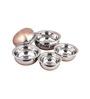 Ideals Stainless Steel 350 ML (Each) Handi - Set of 5