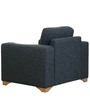 Iganzio One Seater Sofa in Carbon Black Colour by Casacraft