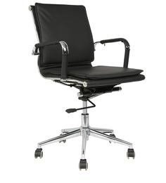 Executive Mid Back Chair in Black Colour by Star India