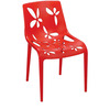 Image Series Vinca Fibre Caf Chair in Vinca Red colour by Cello