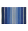 Imperial Knots Blue Cotton 72 x 48 Inch Rug