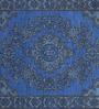 Imperial Knots Blue Vintage Handknotted Carpet