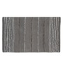 Imperial Knots Grey Wool Viscose 60 x 36 Inch Stripes Handtufted Carpet