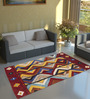 Imperial Knots Multicolour Wool 72 x 48 Inch Gabbeh Hand knotted Area Rug Are Rug