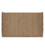 Imperial Knots Brown Jute 60 x 36 Inch Rug